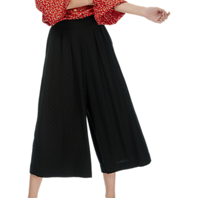 Product photo of Brora wide leg culottes anthracite