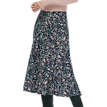 Buy Brora Liberty Jersey Skirt, Prussian Garden Online at johnlewis.com