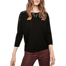 Buy Gerard Darel Lenny Jumper, Black Online at johnlewis.com