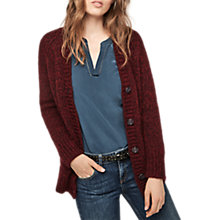 Buy Gerard Darel V-Neck Cardigan, Red Online at johnlewis.com