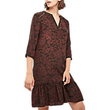 Buy Gerard Darel Printed Dress, Black Online at johnlewis.com