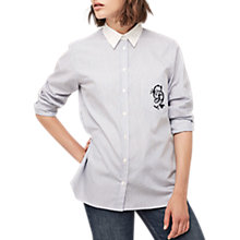 Buy Gerard Darel Betsy Shirt, Blue Online at johnlewis.com