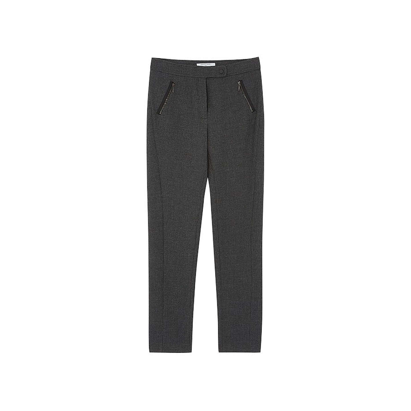 BuyGerard Darel Zip Pocket Trousers, Grey, 6 Online at johnlewis.com