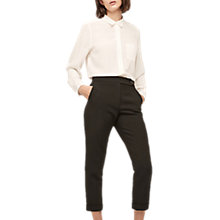 Buy Gerard Darel Cropped Trousers, Black Online at johnlewis.com