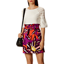 Buy Karen Millen Pointella Fluted Sleeve Online at johnlewis.com
