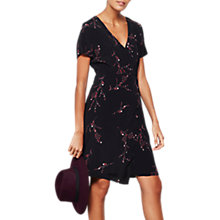 Buy Mint Velvet Blossom Print Wrap Dress, Multi Online at johnlewis.com