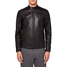 Buy Ted Baker Mate Biker Jacket Online at johnlewis.com