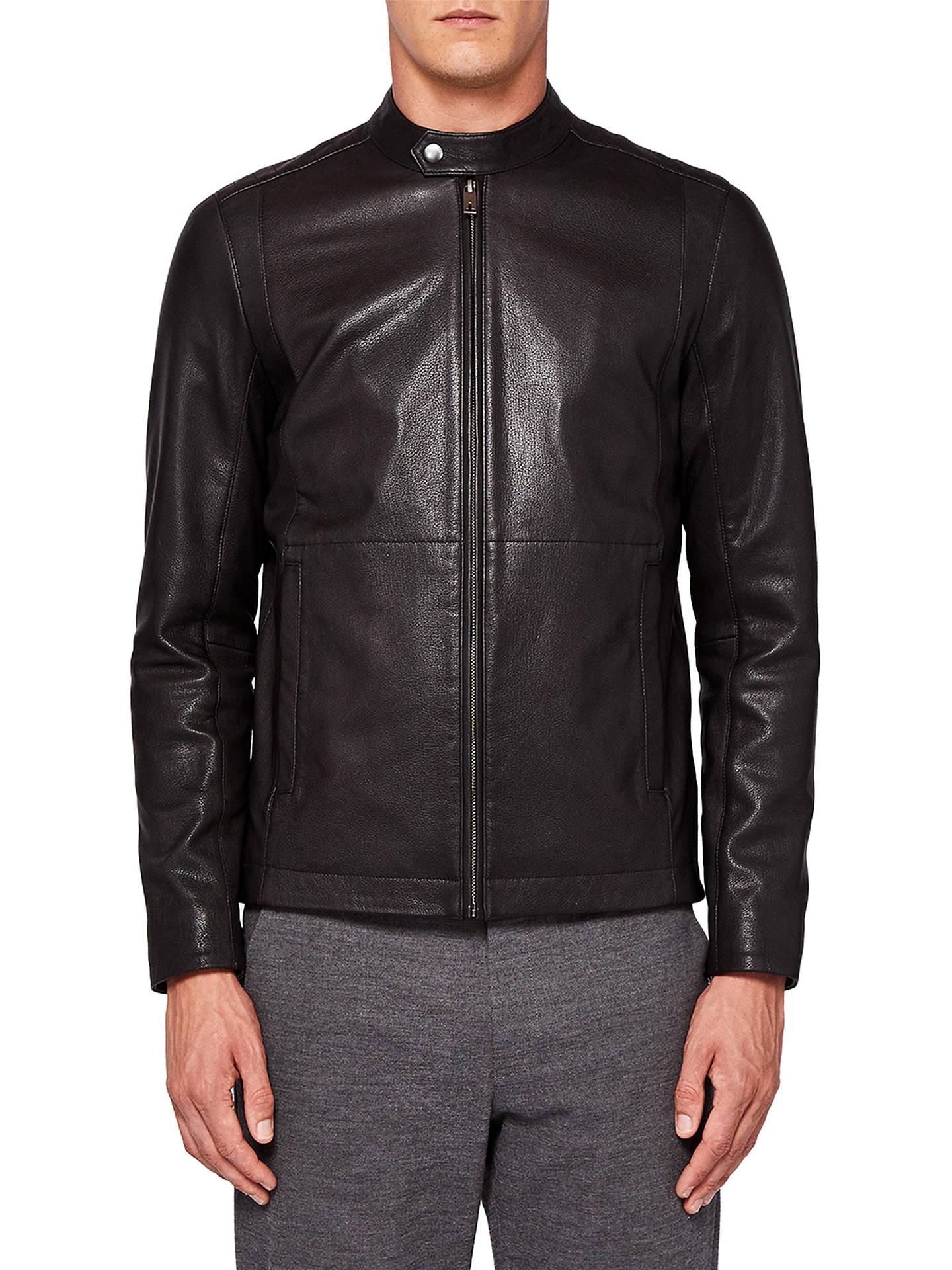 9f12af979 Ted Baker Mate Biker Jacket at John Lewis   Partners