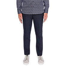 Buy Ted Baker T for Tall Fintrot Trousers, Blue Online at johnlewis.com