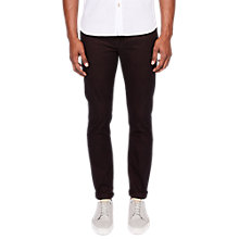 Buy Ted Baker Neapok Slim Jeans, Dark Red Online at johnlewis.com