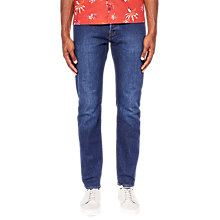 Buy Ted Baker Deetz Tapered Jeans, Mid Wash Online at johnlewis.com