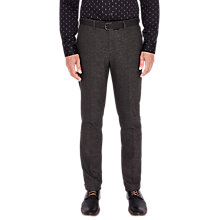 Buy Ted Baker T for Tall Fintrot Trousers, Charcoal Online at johnlewis.com