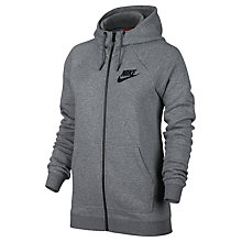 Buy Nike Sportswear Full Zip Rally Hoodie Online at johnlewis.com