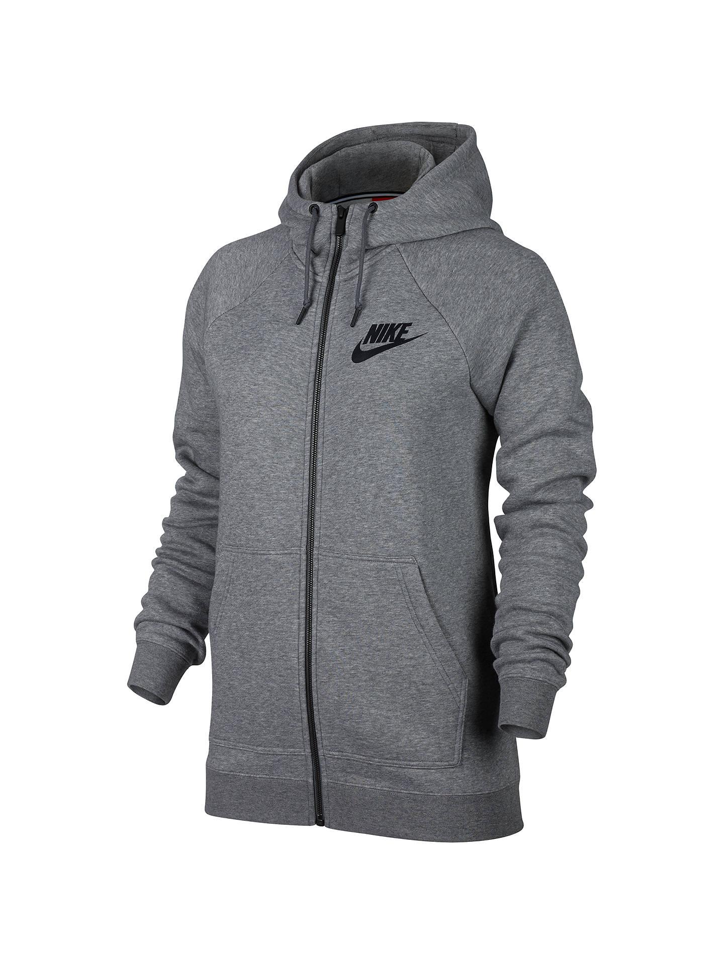 66babdb112a5 Nike Sportswear Full Zip Rally Hoodie at John Lewis   Partners