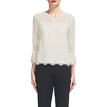 Buy Whistles Marylou Lace Top, Ivoy Online at johnlewis.com