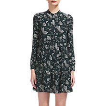 Buy Whistles Autumn Leaf Shirt Dress, Green/Multi Online at johnlewis.com