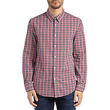 Buy BOSS Green C-Bustai Shirt, Medium Red Online at johnlewis.com