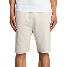 Buy AllSaints Exole Cotton Sweat Shorts, Vintage White Online at johnlewis.com