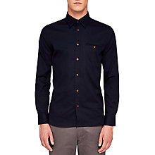 Buy Ted Baker Obidos Shirt, Navy Online at johnlewis.com