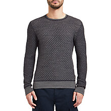 Buy BOSS Orange Kewarco Knit Jumper, Dark Blue Online at johnlewis.com
