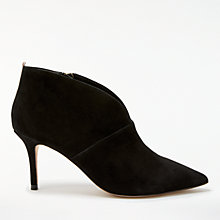 Buy Boden Alexa Stiletto Heeled Ankle Boots, Black Online at johnlewis.com