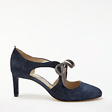 Buy Boden Rebecca Ribbon Tie Court Shoes Online at johnlewis.com