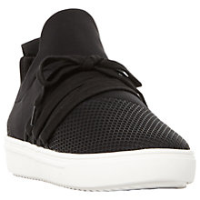 Buy Steve Madden Lancer Mesh Detail Lace Up Perforated Trainers Online at johnlewis.com