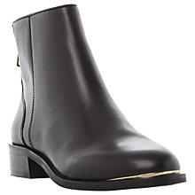 Buy Steve Madden Rileey Block Heeled Ankle Chelsea Boots, Black Online at johnlewis.com