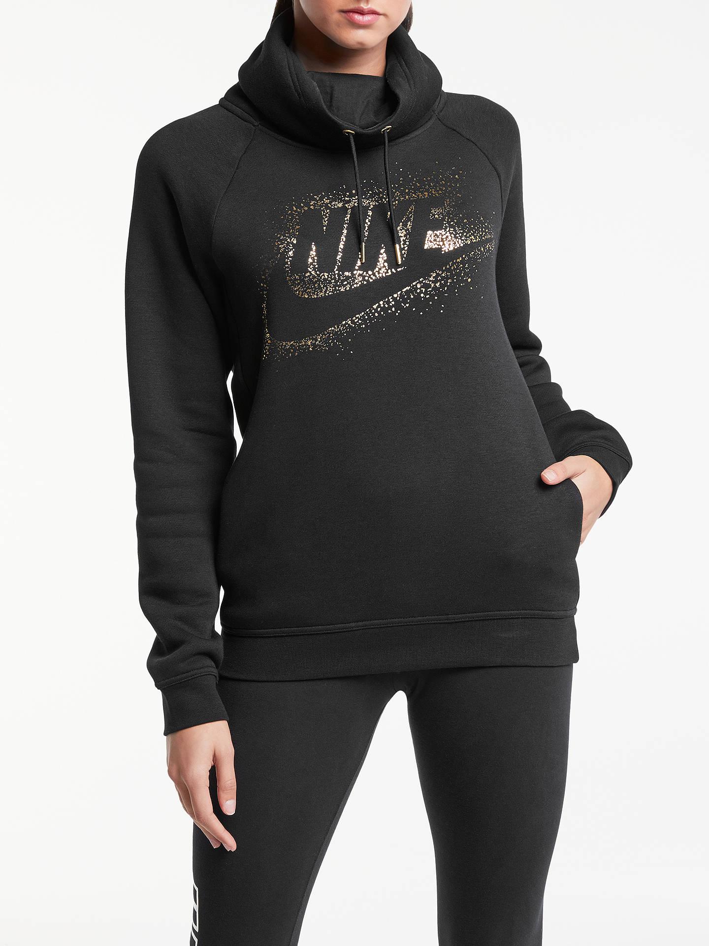 f42466d3835b Buy Nike Sportswear Metallic Logo Rally Hoodie