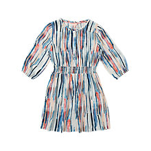 Buy Jigsaw Girls' Autumn Bark Dress, Multi Online at johnlewis.com