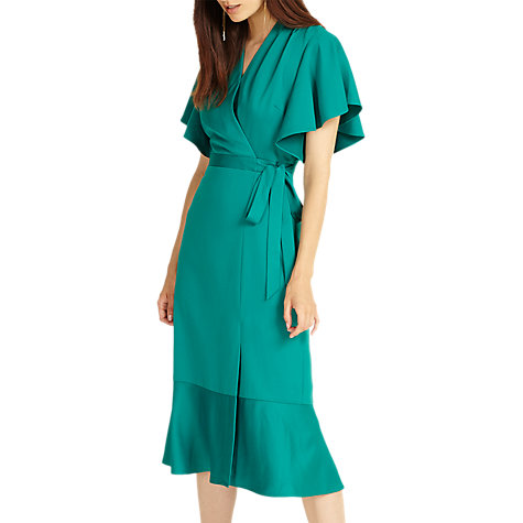 Buy Phase Eight Carlie Frill Dress, Jade Online at johnlewis.com