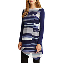 Buy Phase Eight Striped Vinny Tunic, Blue Online at johnlewis.com