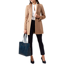 Buy Hobbs Tia Coat, Camel Online at johnlewis.com