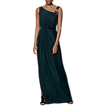 Buy Phase Eight Collection 8 Felina Maxi Dress, Forest Green Online at johnlewis.com