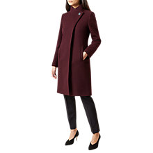 Buy Hobbs Soraya Wool Blend Coat Online at johnlewis.com