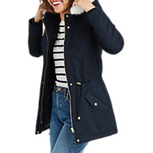 Buy Oasis Camelia Short Parka Coat Online at johnlewis.com