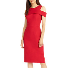 Buy Phase Eight Martina Dress, Scarlet Online at johnlewis.com
