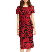 Buy Phase Eight Indra Tapework Dress, Fire Online at johnlewis.com