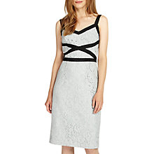 Buy Phase Eight Caela Lace Dress, Sea Salt Online at johnlewis.com