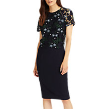 Buy Phase Eight Margo Lace Dress, Midnight Online at johnlewis.com