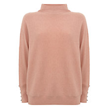 Buy Mint Velvet Button Cuff Batwing Jumper Online at johnlewis.com