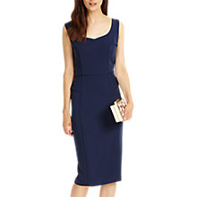 Buy Phase Eight Lily Midi Dress, Royal Navy Online at johnlewis.com