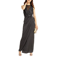 Buy Phase Eight Drape Wrap Maxi Dress, Ever Green Online at johnlewis.com