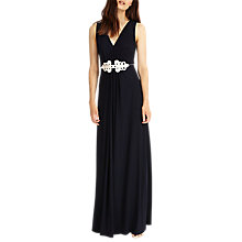 Buy Phase Eight Fran Maxi Dress, Navy Online at johnlewis.com