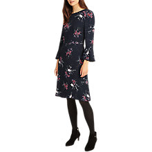 Buy Phase Eight Nina Floral Print Dress, Multi Online at johnlewis.com