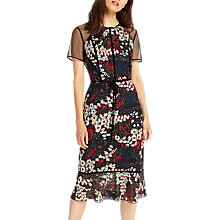 Buy Phase Eight Maylin Embroidered Dress, Multi Online at johnlewis.com