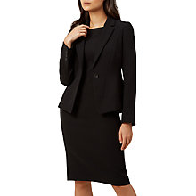 Buy Hobbs Caitlyn Jacket, Black Online at johnlewis.com