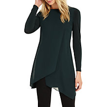 Buy Phase Eight Vinny Long Sleeve Tunic, Pine Online at johnlewis.com