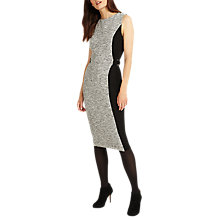 Buy Phase Eight Charlotte Colour Block Dress, Grey Marl Online at johnlewis.com
