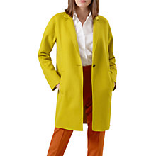 Buy Hobbs Ada Coat, Mimosa Online at johnlewis.com